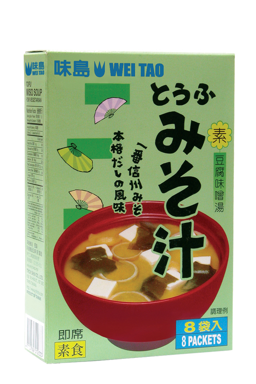 TOFU MISO SOUP for Vegetarian  |產品介紹|Instant Soup